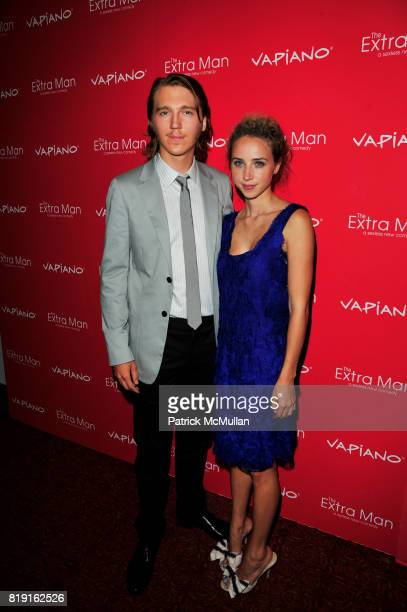 Paul Dano and Zoe Kazan attend Vapiano hosts the New York Premiere of THE EXTRA MAN red carpet arrivals and afterparty at Village East Cinema and...