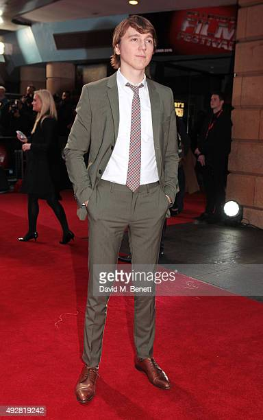 Paul Dano attends a screening of 'Youth' during the BFI London Film Festival at Vue West End on October 15 2015 in London England