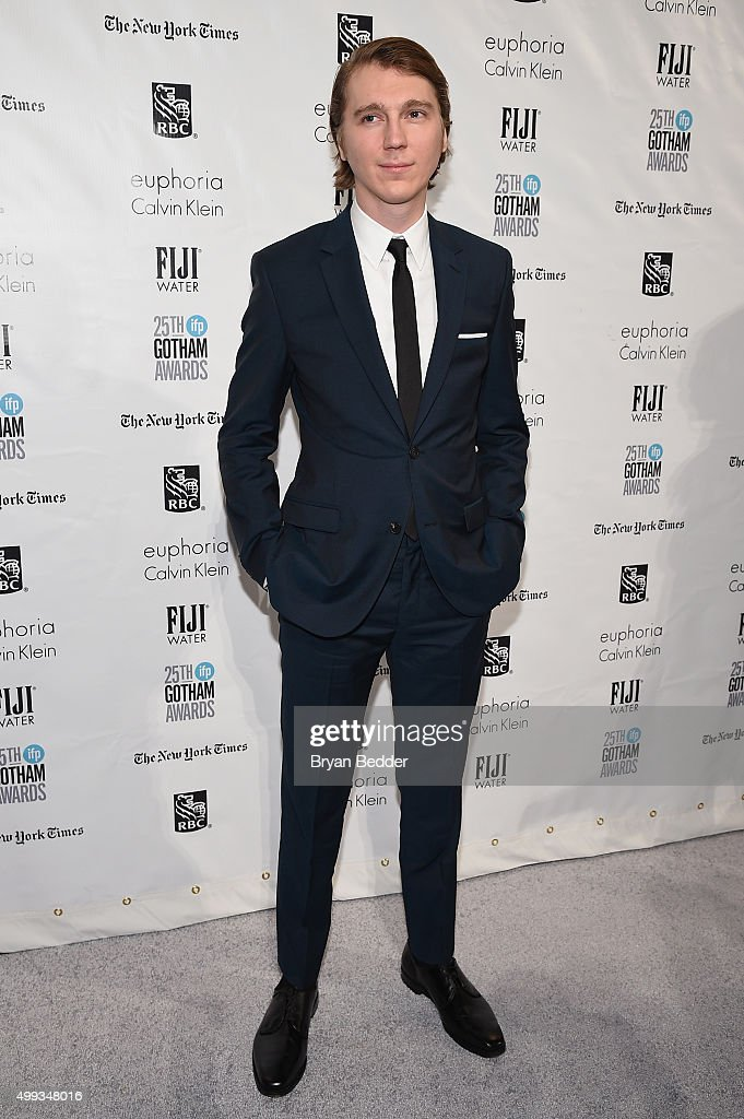 Paul Dano attends the 25th IFP Gotham Independent Film Awards cosponsored by FIJI Water on November 30 2015 in New York City
