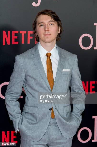 Paul Dano attends the New York premiere of 'Okja' at AMC Lincoln Square Theater on June 8 2017 in New York City