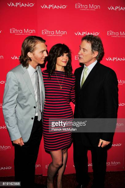 Paul Dano Katie Holmes and Kevin Kline attend Vapiano hosts the New York Premiere of THE EXTRA MAN red carpet arrivals and afterparty at Village East...