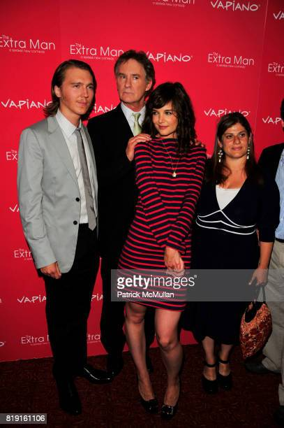 Paul Dano Kevin Kline Katie Holmes and Shari Springer Berman attend Vapiano hosts the New York Premiere of THE EXTRA MAN red carpet arrivals and...
