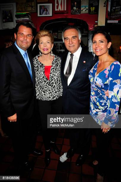Paul David Pope Lois Pope Tony LoBianco and Maria Pope Kessel attend THE DEEDS OF MY FATHERS by Paul David Pope New York book launch at Elaine's on...