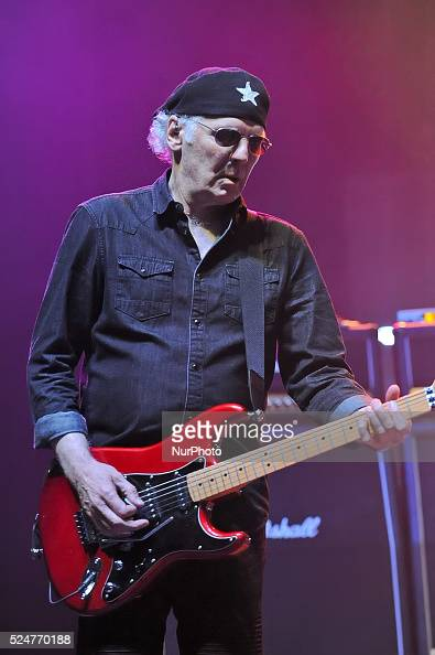 Paul Dean of Loverboy performs in concert at the Cedar Park Center on October 22 2015 in Cedar Park Texas