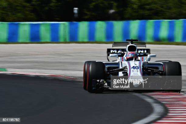 Paul di Resta of Great Britain driving the Williams Martini Racing Williams FW40 Mercedes on track during qualifying for the Formula One Grand Prix...