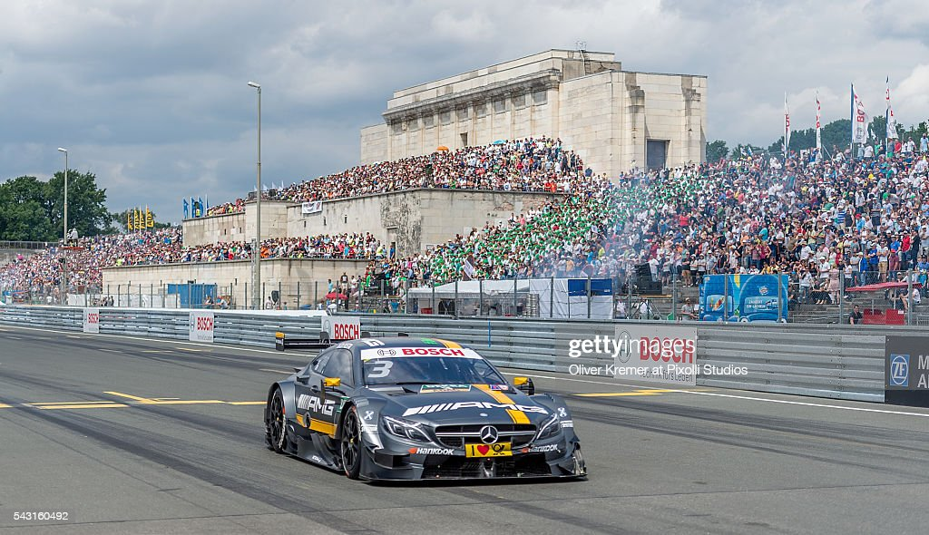 Paul Di Resta (GBR) of Mercedes-AMG DTM Team HWA qualifying for the German Touring Car Championship at the Norisring during Day 3 of the 74. International ADAC Norisring Speedweekend on June 26, 2016 in Nuremberg, Germany.