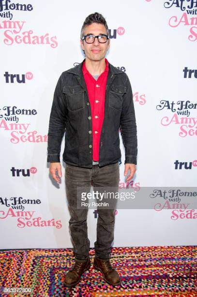 Paul Dinello attends 'At Home With Amy Sedaris' New York Screening at The Bowery Hotel on October 19 2017 in New York City