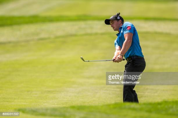 Paul Dunne of Ireland is seen during day two of the Saltire Energy Paul Lawrie Matchplay at Golf Resort Bad Griesbach on August 18 2017 in Passau...