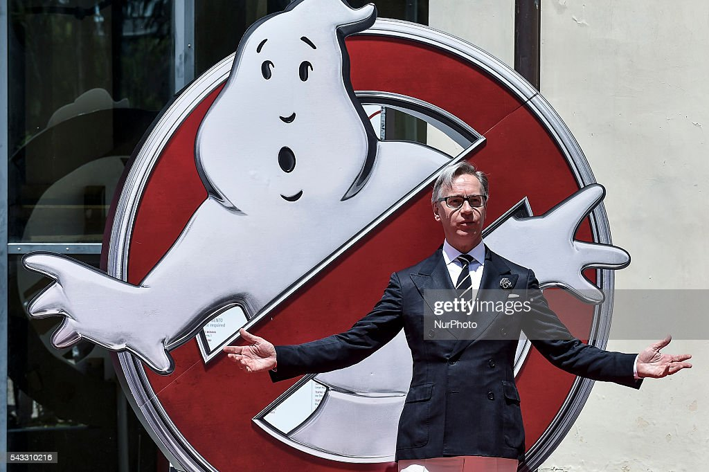 "<a gi-track='captionPersonalityLinkClicked' href=/galleries/search?phrase=Paul+Feig&family=editorial&specificpeople=2367893 ng-click='$event.stopPropagation()'>Paul Feig</a>, american directors of Ghostbusters Movie, attends Photocall at ""La Casa del Cinema"", Rome, Italy on 27 June 2016."