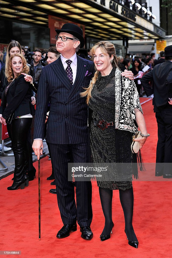 Paul Feig and Laurie Karon attend the gala screening of 'The Heat'>> at The Curzon Mayfair on June 13, 2013 in London, England.
