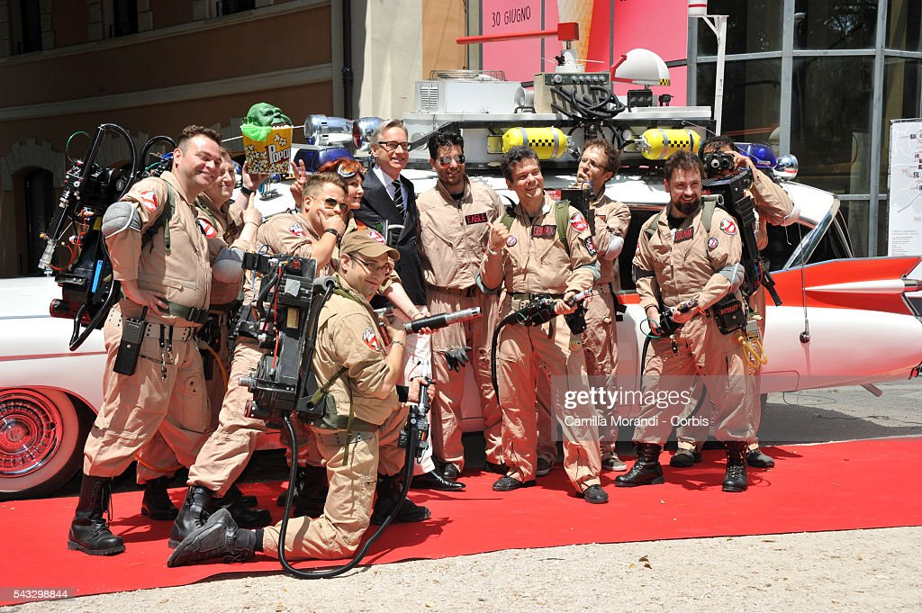 <a gi-track='captionPersonalityLinkClicked' href=/galleries/search?phrase=Paul+Feig&family=editorial&specificpeople=2367893 ng-click='$event.stopPropagation()'>Paul Feig</a> attends the Ghostbuster Photocall on June 27, 2016 in Rome, Italy.