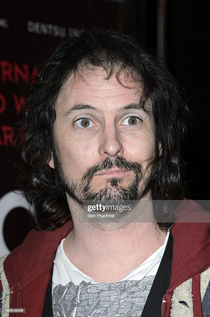 Paul Flannery of 'Ray Guns Looks Real Enough' attend the press night for Siro-A show, described as Japan's version of the Blue Man Group at Leicester Square Theatre on February 4, 2013 in London, England.