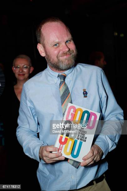 Paul Flynn attends the launch of new book 'Good As You From Prejudice To Pride 30 Years Of Gay Britain' by Paul Flynn at The London EDITION on April...