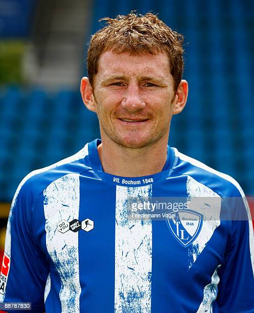Paul Freier poses during the VfL Bochum team presentation at the rewirpower stadium on June 29 2009 in Bochum Germany