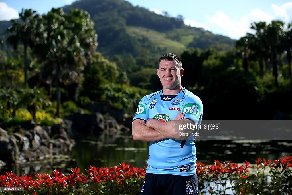 Paul Gallen of the New South Wales Blues poses at the Novotel on June 10, 2015 in Coffs Harbour, Australia.