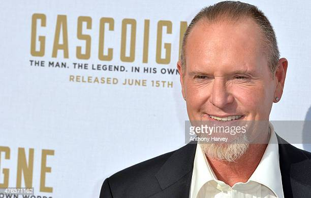 Paul Gascoigne attends the Premiere of 'Gascoigne' at Ritzy Brixton on June 8 2015 in London England