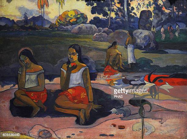 Paul Gauguin French painter Sacred Spring Sweet Dreams 1894 Oil on canvas The State Hermitage Museum Saint Petersburg Russia