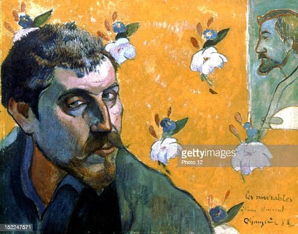 Paul Gauguin French school Selfportrait Les Miserables Oil on canvas Amsterdam Van Gogh Museum