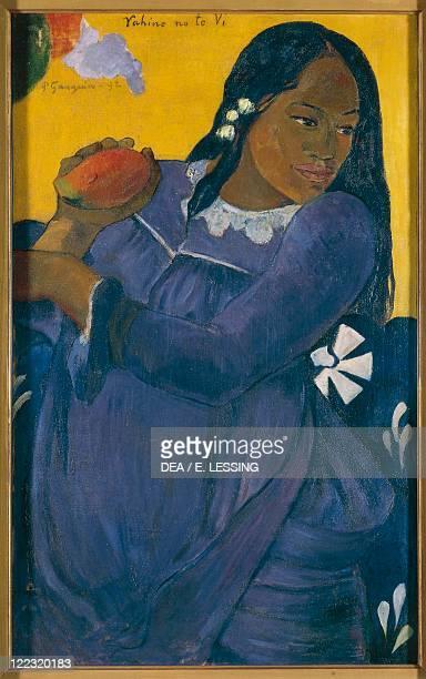 Paul Gauguin Vahine no te vi oil on canvas