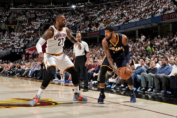 Indiana Pacers v Cleveland Cavaliers - Game Two : News Photo