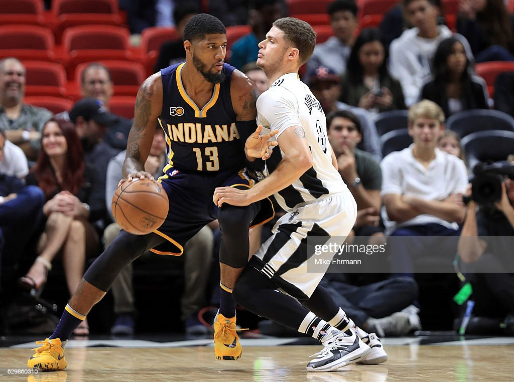 Indiana Pacers v Miami Heat