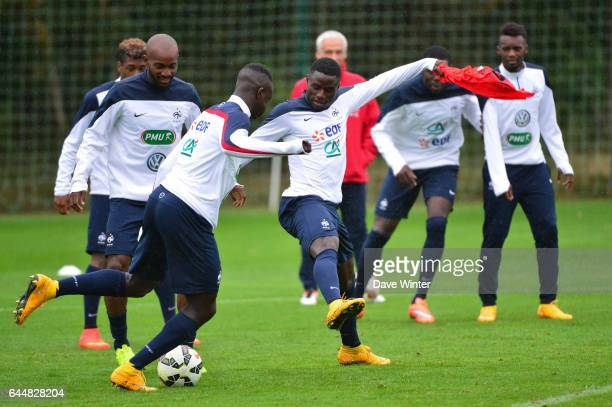 Paul Georges NTEP Entrainement Equipe de France Espoirs Clairefontaine Photo Dave Winter / Icon Sport