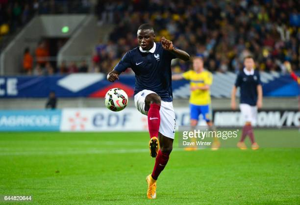 Paul Georges NTEP Suede / France Eliminatoires Euro Espoirs 2015 Photo Dave Winter / Icon Sport
