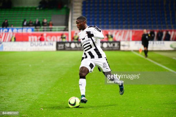 Paul Georges NTEP Troyes / Rennes 21eme journee de Ligue 1 Photo Dave Winter / Icon Sport
