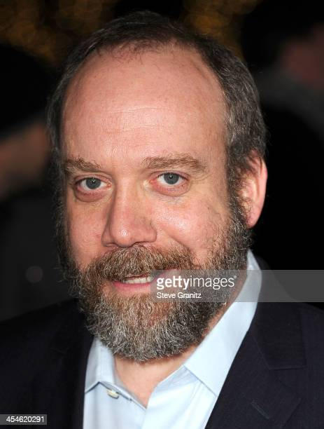 Paul Giamatti arrives at the 'Saving Mr Banks' Los Angeles Premiere at Walt Disney Studios on December 9 2013 in Burbank California