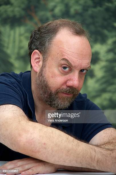 Paul Giamatti at the 'Billions' Press Conference at The London Hotel on September 26 2015 in New York City