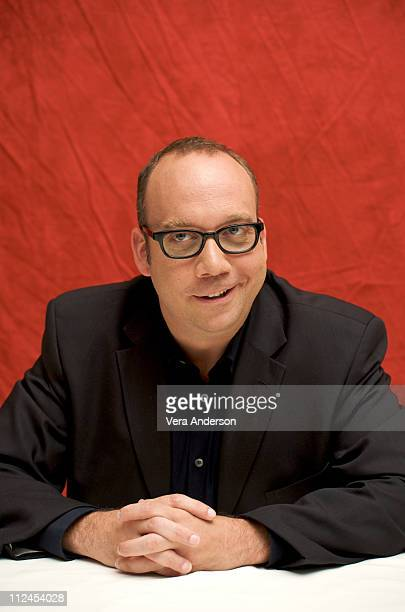 Paul Giamatti at the 'John Adams' press conference at the Beverly Wilshire Hotel on July 18 2008 in Beverly Hills California