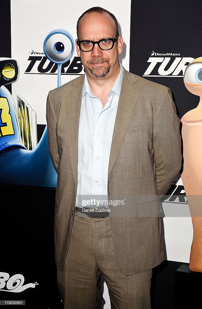 Paul Giamatti attends the 'Turbo' New York Premiere at AMC Loews Lincoln Square on July 9, 2013 in New York City.