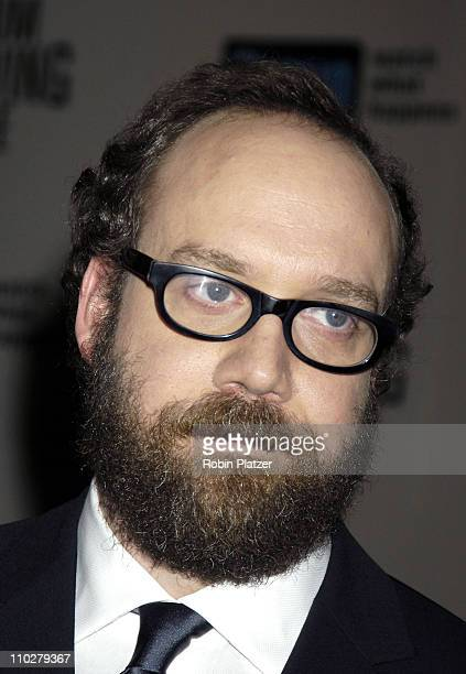 Paul Giamatti during Museum of the Moving Image Salute to Ron Howard at The WaldorfAstoria in New York City New York United States