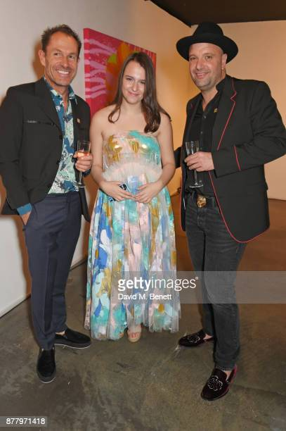 Paul Giles Creative Director of Bird In Hand Lalla Nugent and Andrew Nugent Founder of Bird In Hand attend an intimate dinner hosted by Henry Holland...