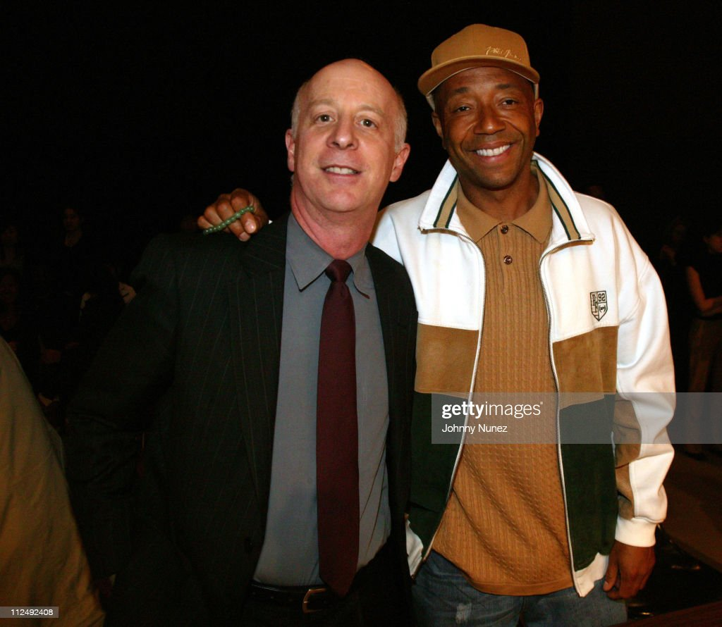 Paul Goldberger dean of Parsons School of Design and Russell Simmons