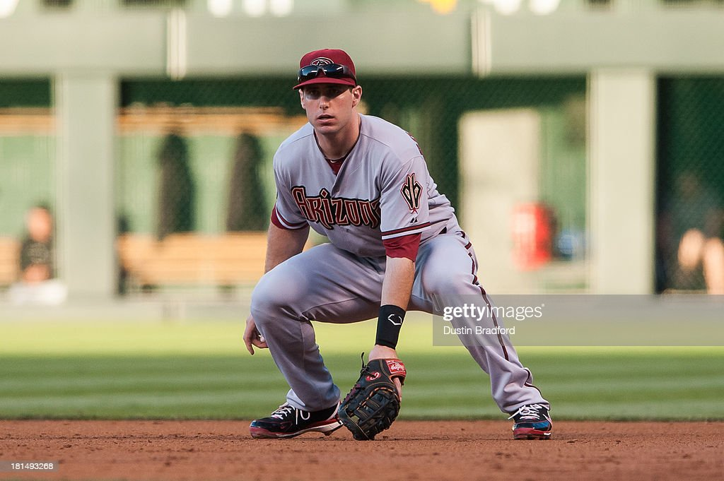 <a gi-track='captionPersonalityLinkClicked' href=/galleries/search?phrase=Paul+Goldschmidt&family=editorial&specificpeople=7511120 ng-click='$event.stopPropagation()'>Paul Goldschmidt</a> #44 of the Arizona Diamondbacks plays defense at first base against the Colorado Rockies at Coors Field on September 20, 2013 in Denver, Colorado.