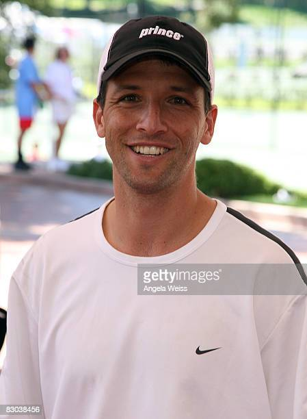 Paul Goldstein attends the Bryan Brothers' AllStar Tennis Smash on September 27 2008 in Thousand Oaks California