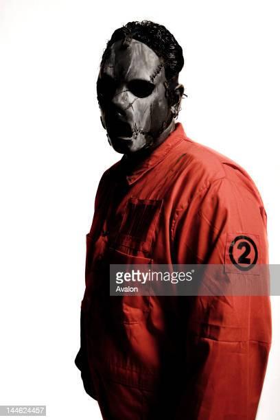 Paul Gray #2 of Slipknot shot in Des Moines Iowa 27/06/08