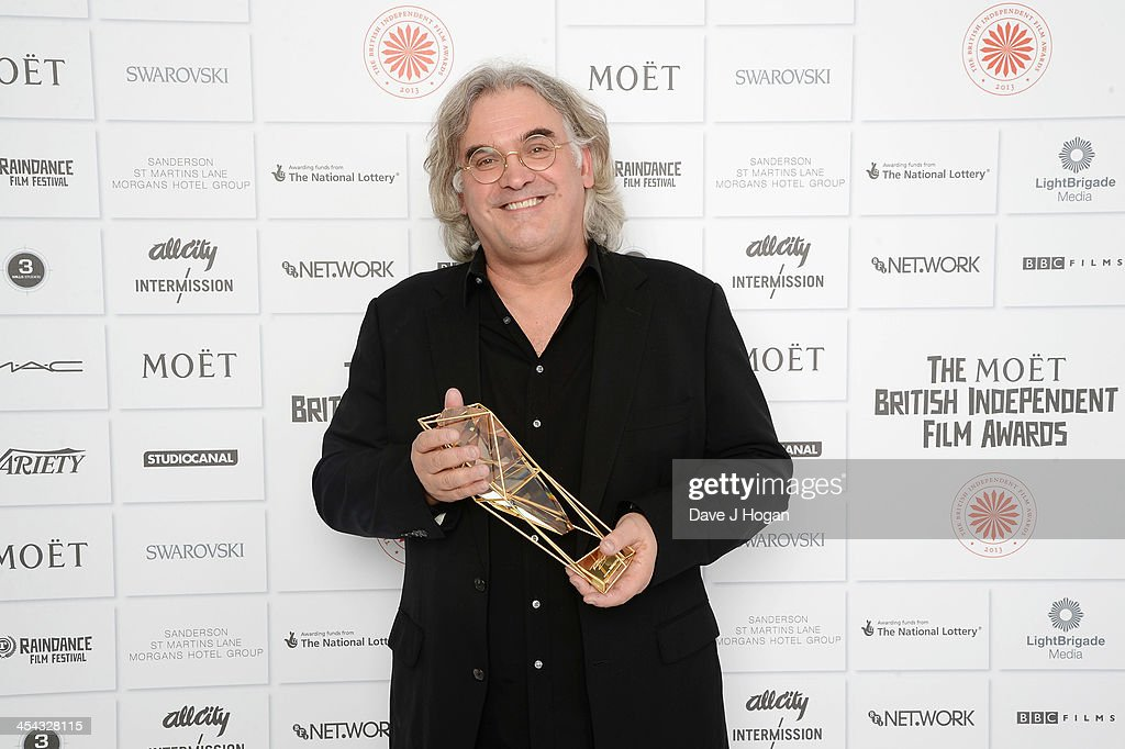 <a gi-track='captionPersonalityLinkClicked' href=/galleries/search?phrase=Paul+Greengrass&family=editorial&specificpeople=240256 ng-click='$event.stopPropagation()'>Paul Greengrass</a> winner of the Variety Award attends the Moet British Independent Film Awards 2013 at Old Billingsgate Market on December 8, 2013 in London, England.