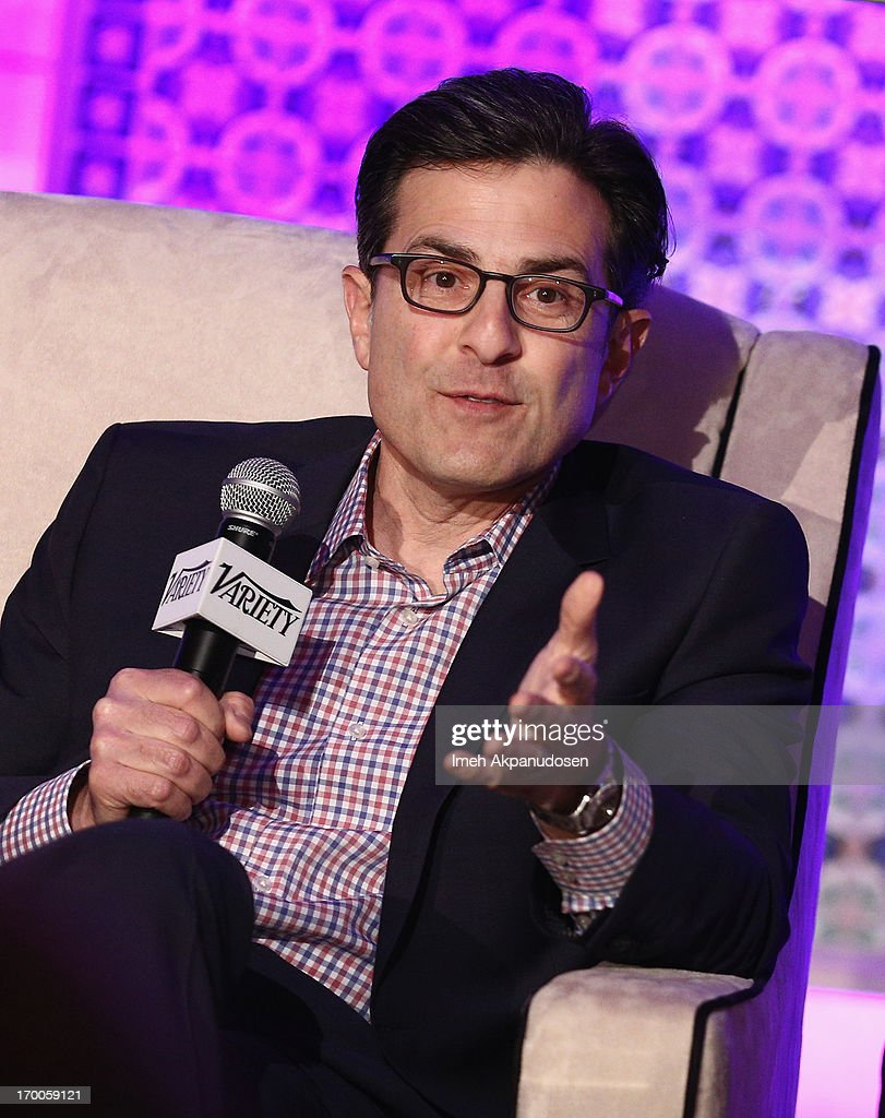 Paul Guyardo, EVP, Chief Revenue Officer and CMO DirecTV speaks during the 'Chief Marketing Officer Roundtable' panel at Variety Presents