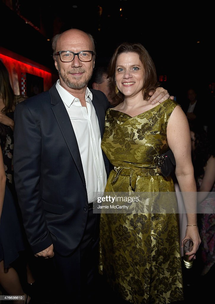 Paul Haggis and Toby Boshak Executive Director of the Princess Grace FoundationUSA attend the Princess Grace FoundationUSA NY Special Summer 2015...