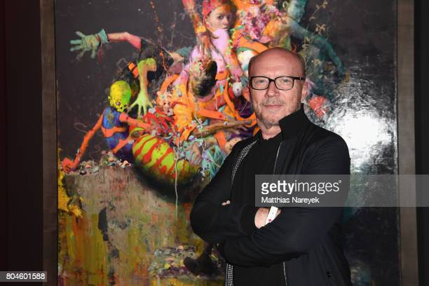 Paul Haggis attends Bacardi X The Dean Collection Present No Commission on June 30 2017 in Berlin Germany