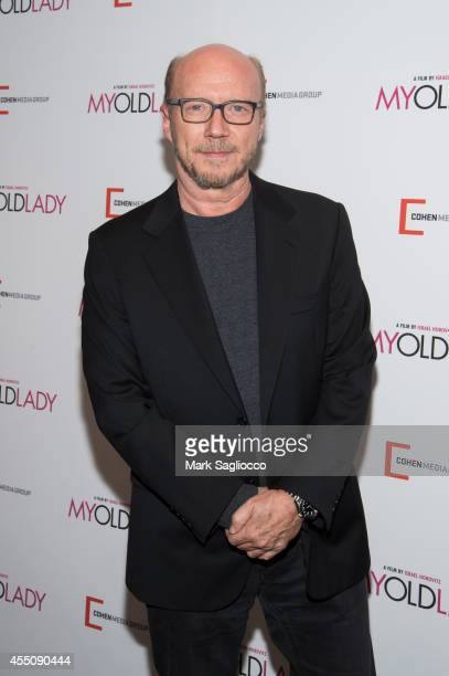 Paul Haggis attends 'My Old Lady' Premiere at Museum of Modern Art on September 9 2014 in New York City
