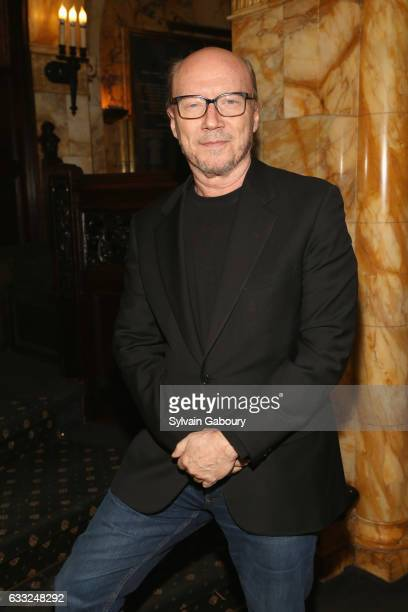 Paul Haggis attends The Cinema Society with Avion and Jergens Host the After Party for Sony Pictures Classics' 'The Comedian' on January 31 2017 in...