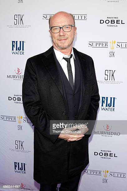 Paul Haggis attends the 'Third Person' Film PrePremiere Party At Supper Suite By STK Hosted With Fiji Water And Dobel Tequila on April 24 2014 in New...