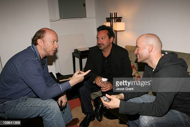 Paul Haggis James Mangold and Marc Forster during 2007 Los Angeles Film Festival Coffee Talks at The Landmark in Los Angeles California United States