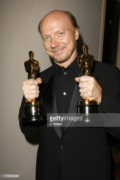 Paul Haggis winner Best Picture and Best Original Screenplay for 'Crash'