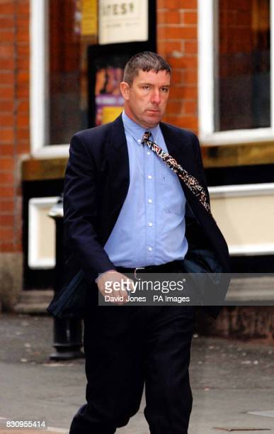 Paul Hamilton from Wellingborough a police constable with Northamptonshire Police outside Birmingham Crown Court where he denies rape assault...