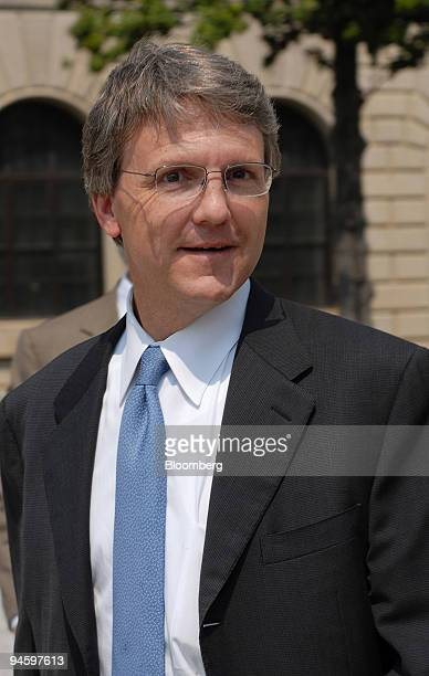 Paul Hamrick former chief of Staff for former Alabama Governor Don Siegelman leaves the federal courthouse in Montgomery Alabama on Monday June 26...