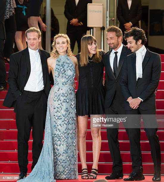 Paul Hamy Diane Kruger Alice Winocour Matthias Schoenaerts and guest attend 'The Sea Of Trees' Premiere during the 68th annual Cannes Film Festival...